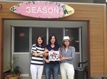 女子3人でアートの島、直島&シーズンに。