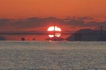 瀬戸内の夕陽。
