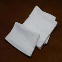 肌触りのよい厚手のタオル