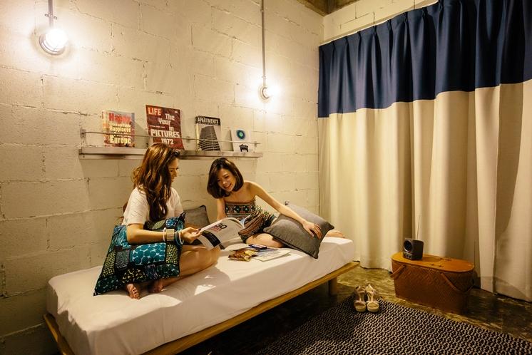 【ツインルーム】2段ベッド+ソファベッド