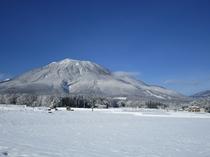 冬の黒姫山