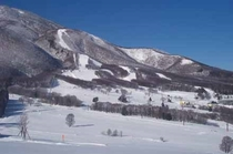 冬晴れの黒姫高原
