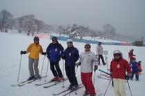 スキーは楽し