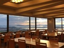 岡山まで見渡せる展望レストラン