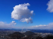 ホテルからの景観(晴天の眺望)