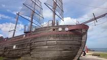 Araha beach park. pirate ship