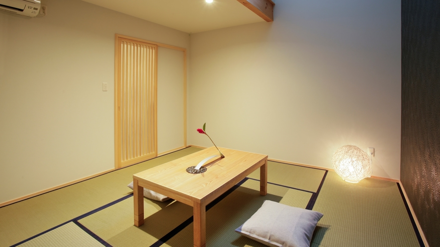 【東の棟1F】クールな雰囲気の8畳和室