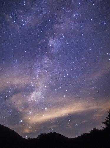 【星空を見上げながらお散歩】