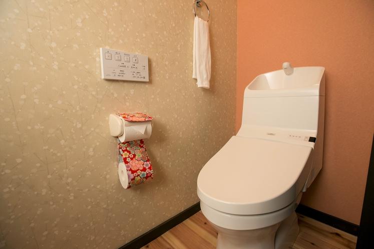 清潔なウォシュレット付きトイレ♪