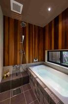 浴室・洗面はホテルのスイートルームのような空間です。