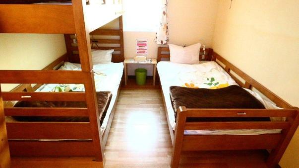 プライベートルーム(個室)1〜3名まで泊まれるお部屋
