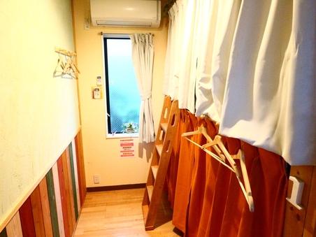 【個室】2段ベッド1台2人部屋