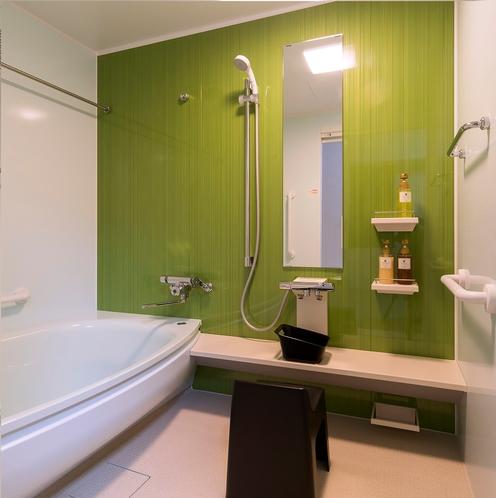 2階 ファミリー和室 お風呂 バリアフリー設計!