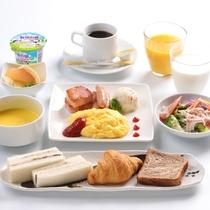 朝食 洋定食~日替わり スクランブルエッグ~