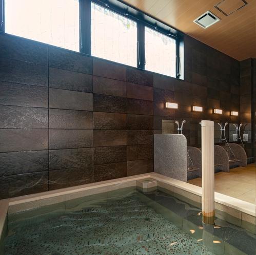 1階 大浴場 準天然 人口温泉 光明石温泉