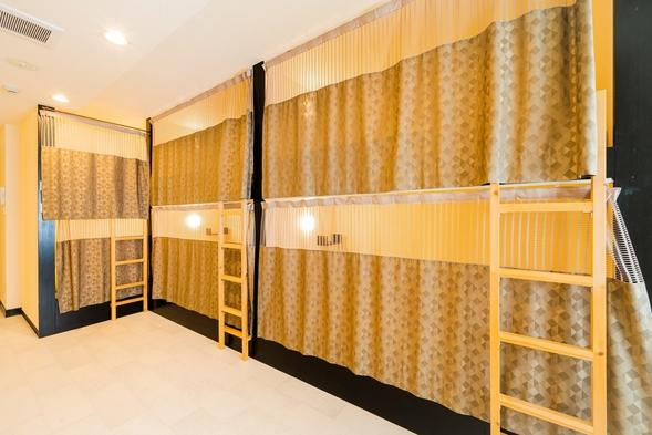 スタンダード素泊りプラン(男女共用ドミトリー二段ベッド)
