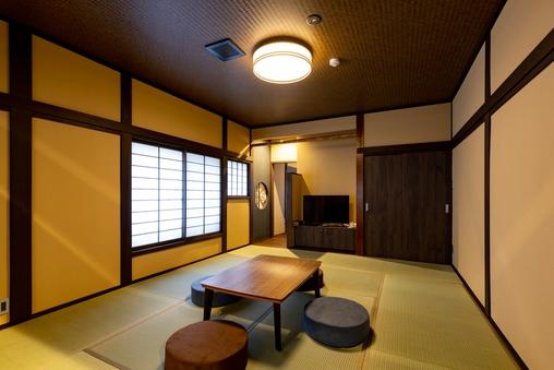 【S・ROOM】居間+寝間<セミダブル・ツイン>(禁煙)