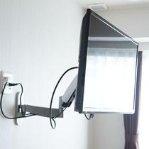 可動式の壁掛けテレビ