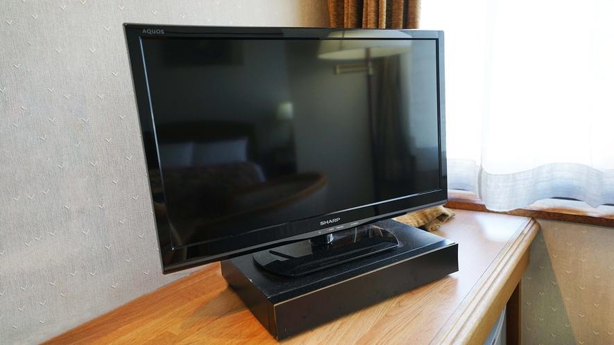 薄型液晶テレビ(全部屋設備)