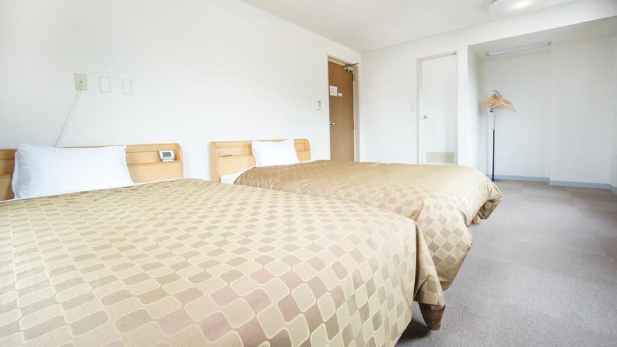 ★ツインルーム★140cm幅ベッド2台
