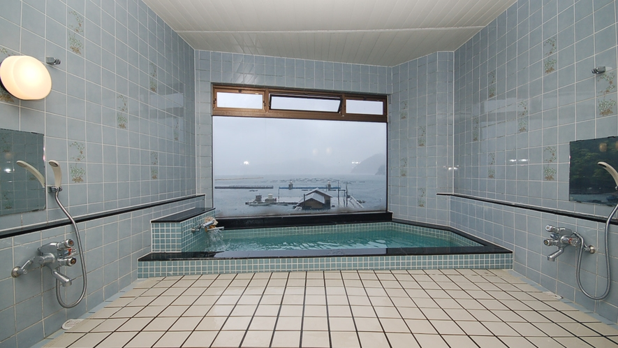 *【展望風呂】日引湾を一望できます
