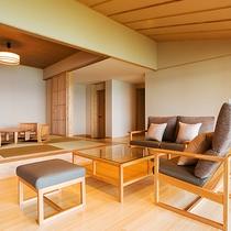 ■プレミアムスイート■名嘉真-NAKAMA-【ビューバス付 95㎡】 最も眺めの良い上質な空間