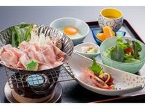 ランチ「あぐー豚のすき煮御膳」(イメージ)