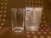 ◆グラス◆冷蔵庫内にご用意しております。