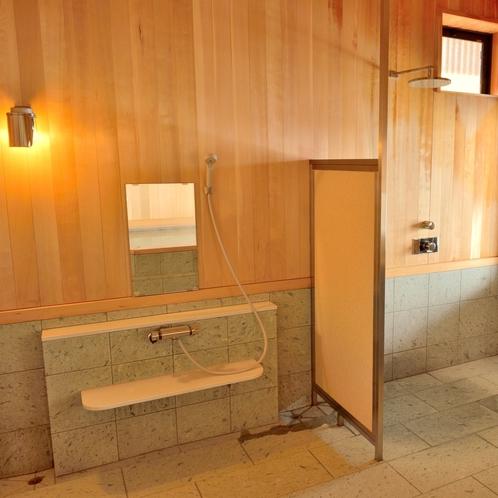 内風呂 洗い場