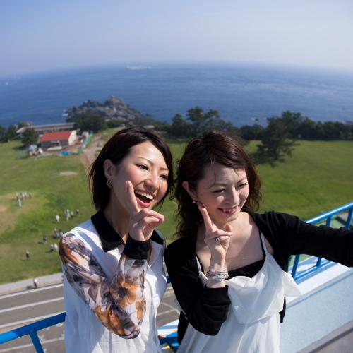【潮岬観光タワー】水平線と一緒に記念撮影♪本州最南端の串本町