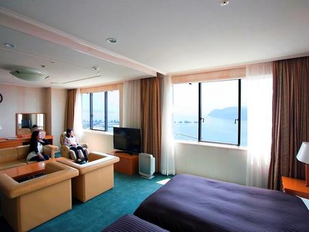 【海側禁煙】和洋室スイートルーム72平米【13階】