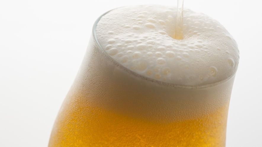 お疲れ様でした!生ビールが美味しい季節ですね♪(画像イメージです)