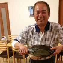 *【当館主人】主人自ら漁に出てその日の食材を調達!