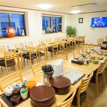 *【食事処】朝夕共にこちらでお食事をご用意致します。