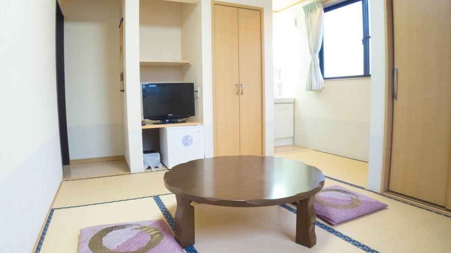 *【お部屋一例】2013年リニューアル!清潔感溢れる和室