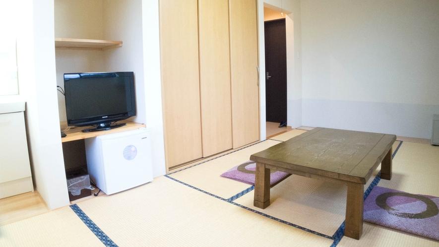 *【お部屋一例】全室・個別空調の冷暖房完備しております。