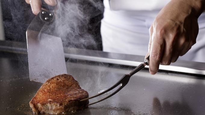 大人の隠れ家で贅沢なひと時を『地場食材と仙台牛ステーキコース』 夕朝食付ステイ