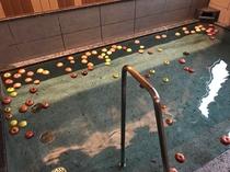 りんご風呂開催 11月26日