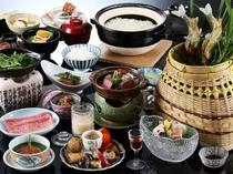 味覚膳(夏の一例)
