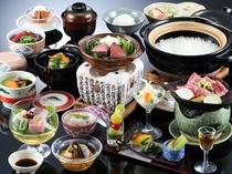 味覚膳料理一例(春)