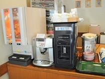 【朝食】お飲物はセルフサービスです。