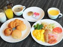 【朝食】洋食の一例