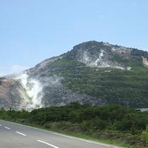 周辺観光(硫黄山)
