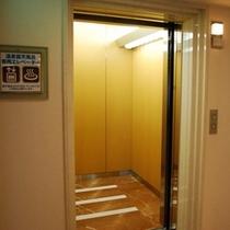 温泉専用エレベーター