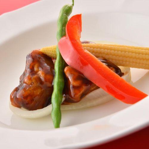 【夕食例】中華料理長のおすすめ!季節のコース料理