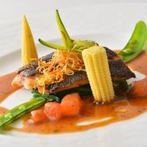 【夕食例】フレンチ料理長の特選フルコース
