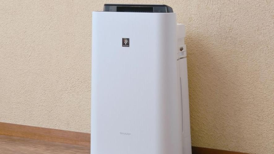 客室設備例:空気清浄機