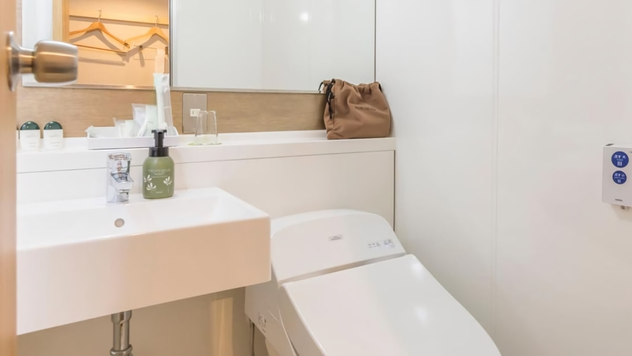 客室設備例(シングルルーム(14.0平米)