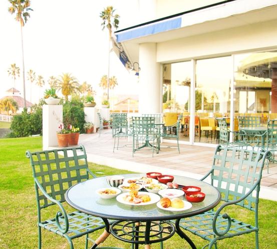 【まるごと和歌山の朝ごはん】晴れた日はガーデンで優雅に朝食を!