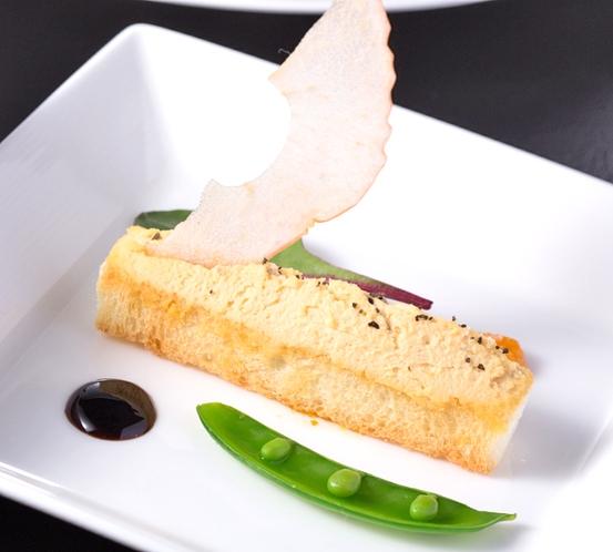【シェフからのアミューズ】※特別コース「スペチャーレ」で食べられます!